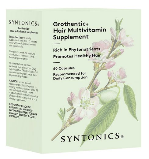 6 Grothentic Hair Multivitamin Supplements