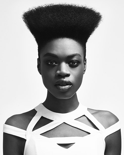 Check Out Robert Eaton And Karla Ancliffe Smith Of Rus Who Won The Afro Hairdresser Year Category At 2016 British Hairdressing Awards