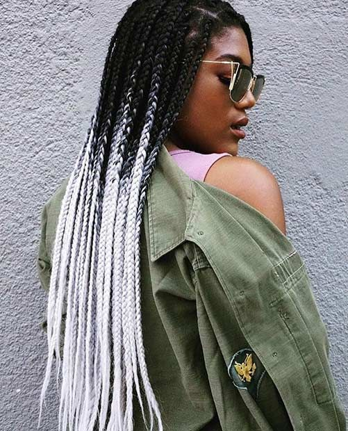 Ombr 233 Braids Are Making A Great Summer Statement