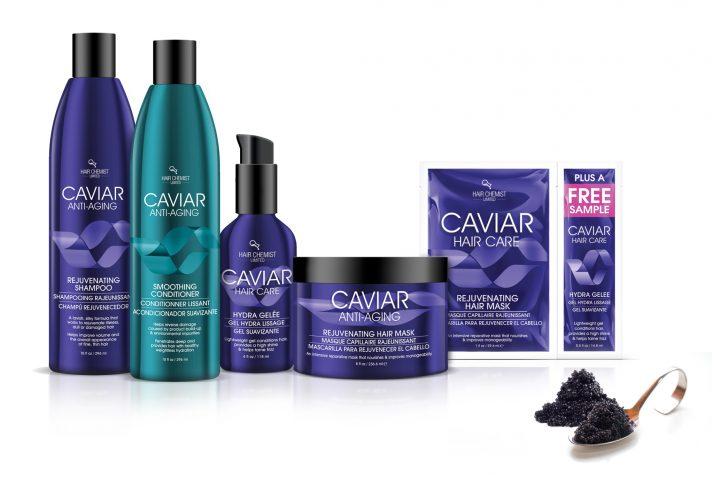 3 Hair Chemist Caviar Sets