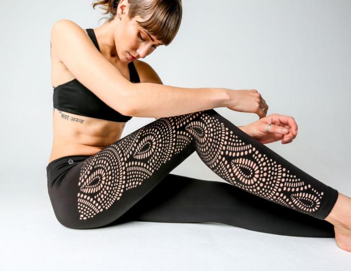 Hot yoga fashion