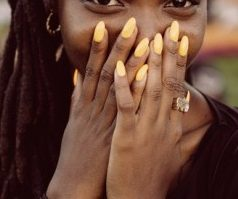 Summer nail colours for darker skin