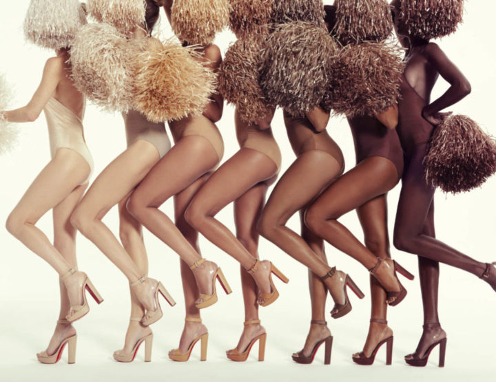 Christian Louboutin releases new styles for their nude collection