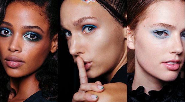 Block it! Colour makeup for Autumn 2017