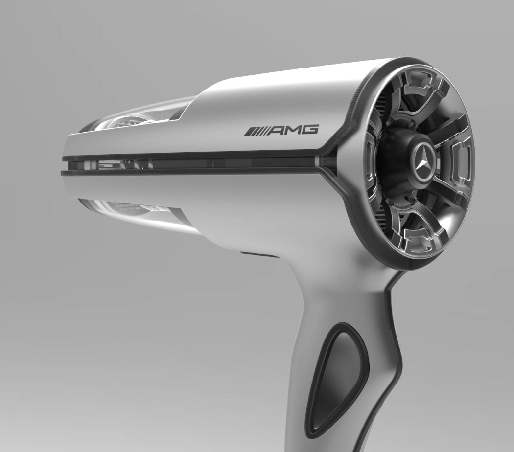 Hair Dryer Design ~ Mercedes hairdryer