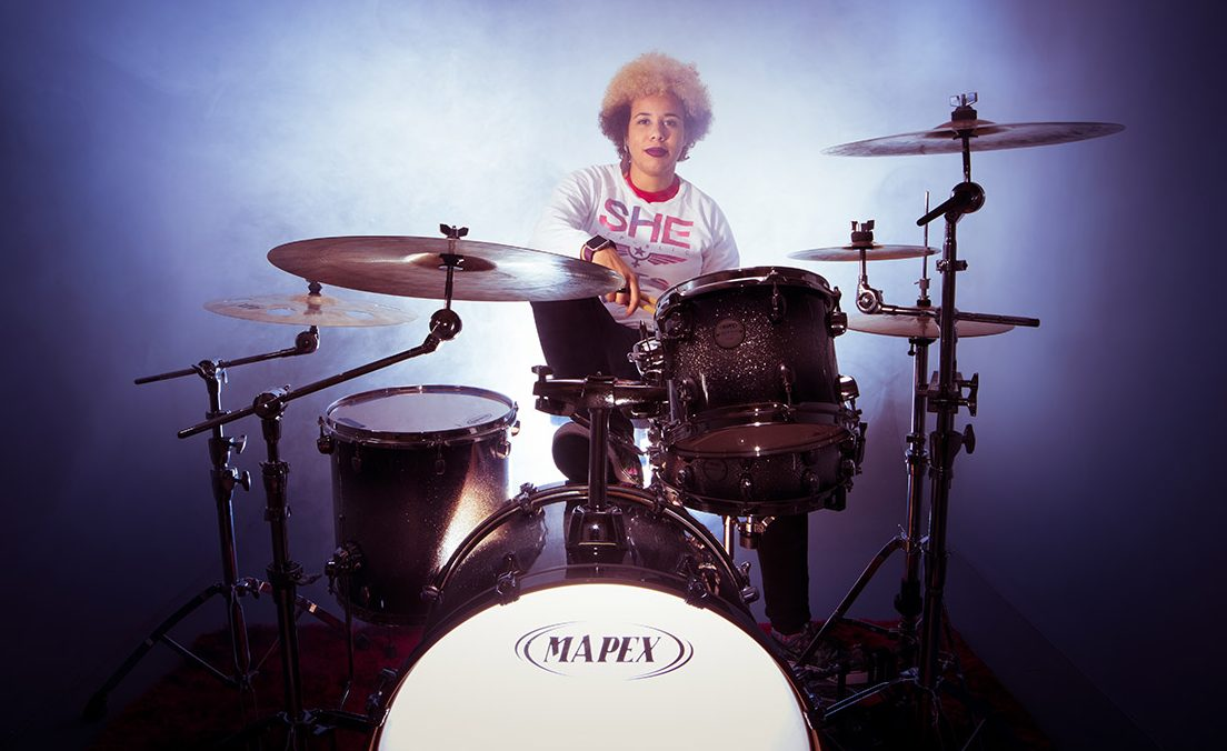 Banging the drums: Affy Green