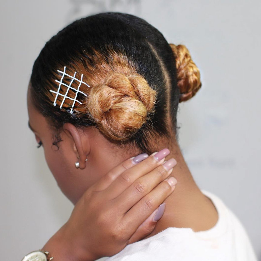 Style Your Hair With Bobby Pins