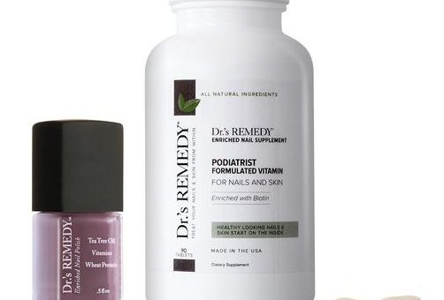 Healthy nails with Dr.'s Remedy supplements