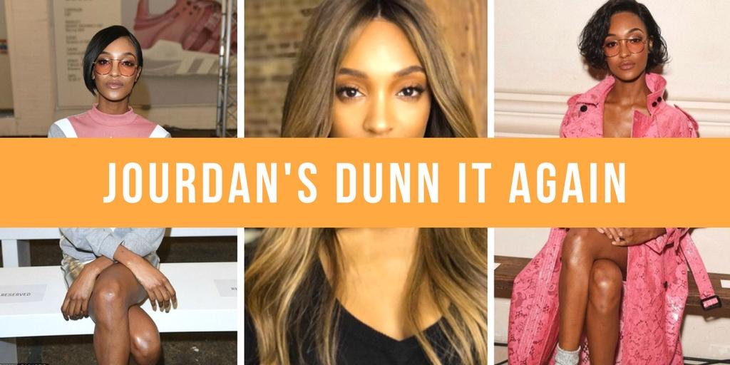 Get Jourdan Dunn's LFW looks with Cloud Nine Hair Tools