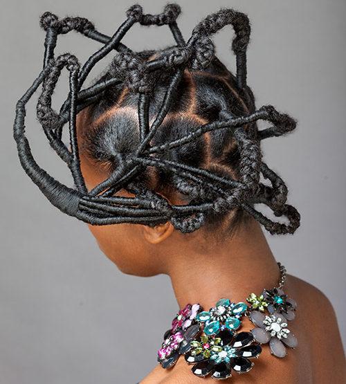 Cool hair threading