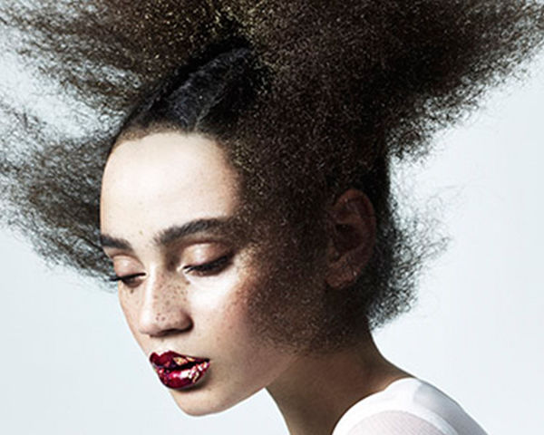 Abstract afros