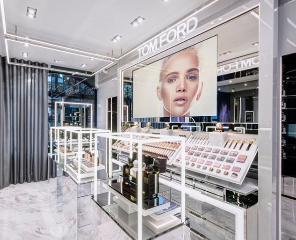 Tom Ford opens new beauty store in London