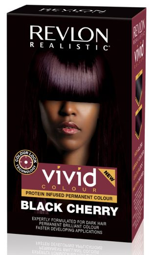 5 Revlon Realistic Vivid Colour in Black Cherry