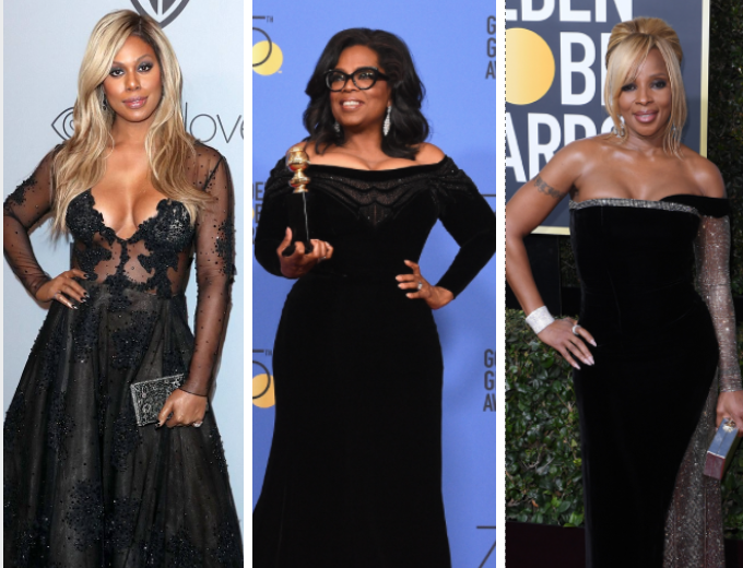 Golden Globes 2018: All black everything