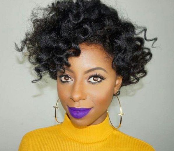 Purple lipsticks for the fierce black girl