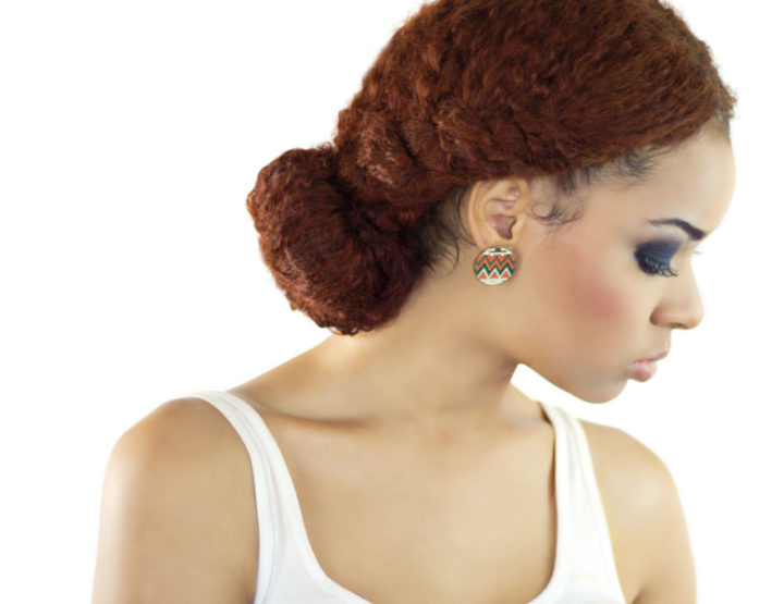 How to do a textured bun with extensions