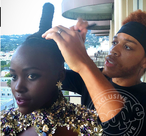 Black Panther premiere: Behind the scenes with Vernon François
