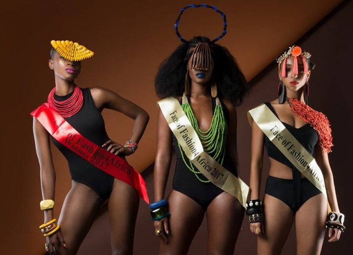 Face of Fashion4Africa modelling competition winners
