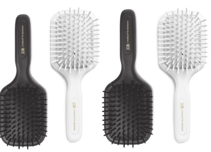 Charlotte Mensah launches new paddle brush for afro hair