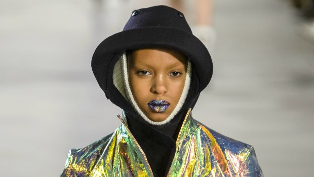 Pat McGrath's ombré glitter lips are the bomb