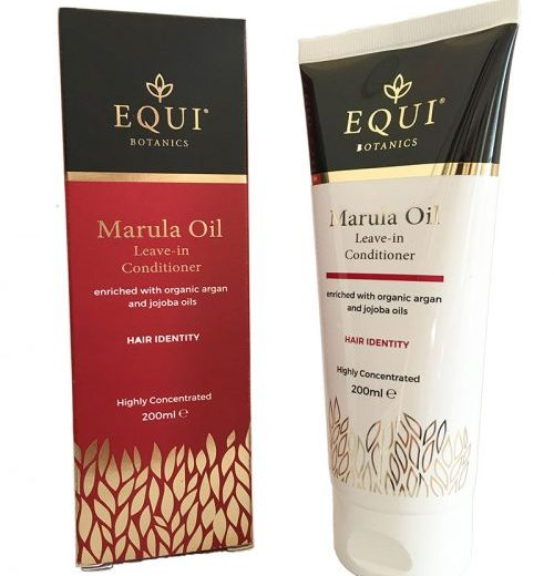 5x Equi Botanics Marula Oil Leave-in Conditioners