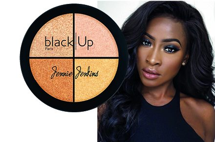 6x Jenny Jenkins Black Up Highlighting Palettes