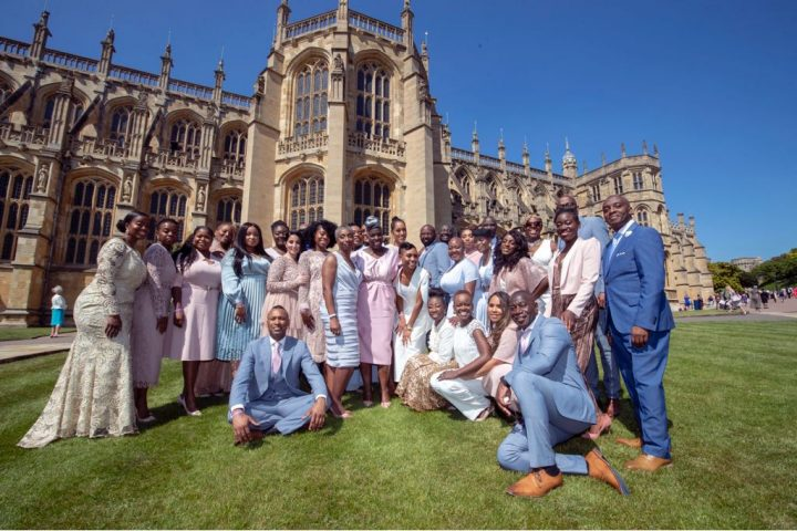 Royal Wedding gospel choir wears Sheer Chemistry nude tights