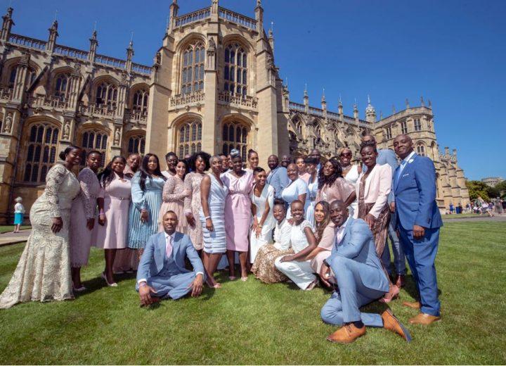 Royal Wedding gospel choir wears Sheer Chemistry nude tights
