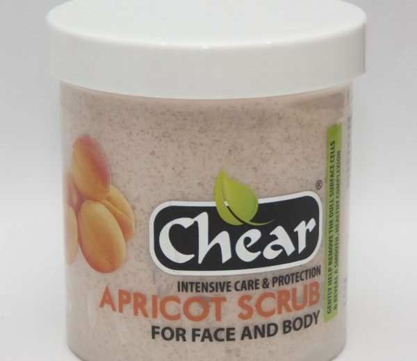 8x Chear Apricot Scrub creams