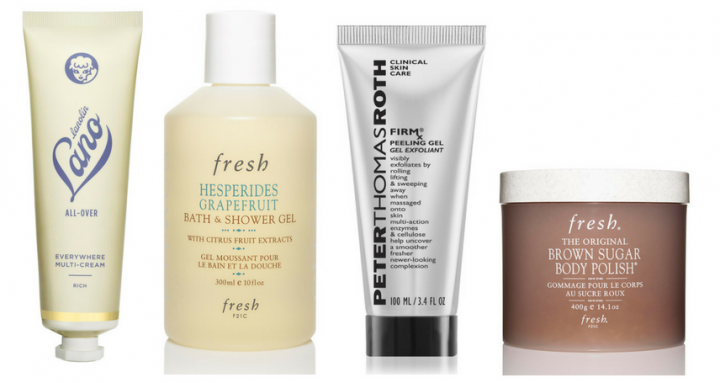 4 products to get rid of rough dry skin