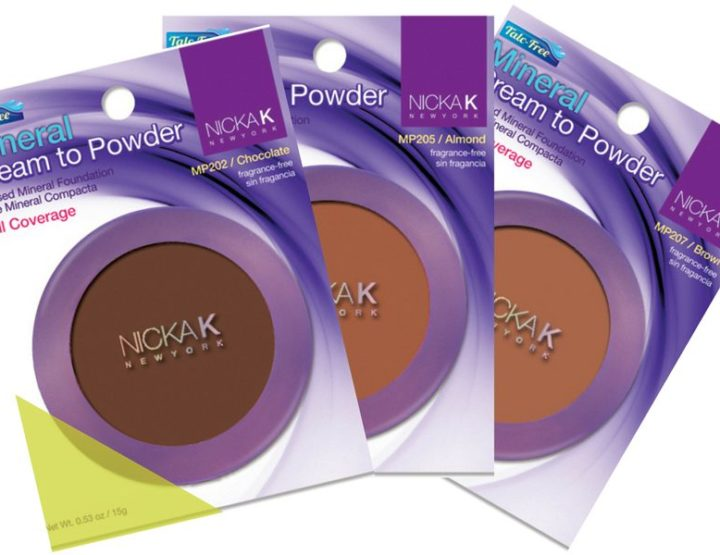 Cream to powder foundations from Nicka K
