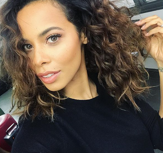 Mixed-race celebrities and their hair