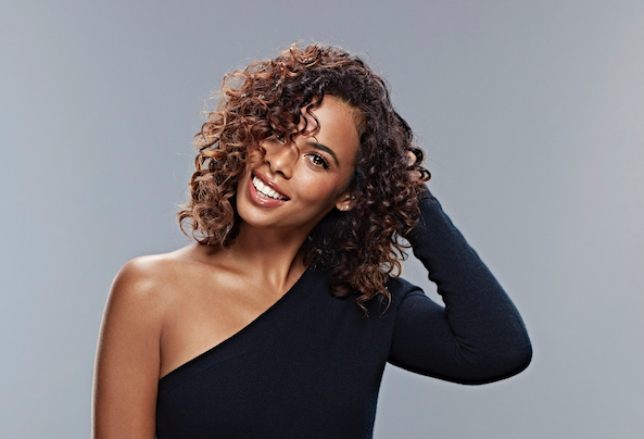 Rochelle Humes becomes the face of Frizz Ease