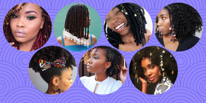 The hair accessories your afro hair needs