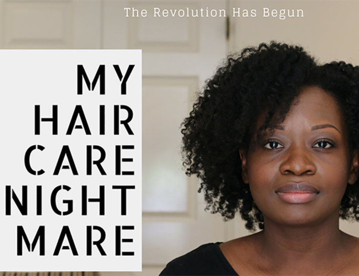 My 'Haircare Nightmare' crowdfunding campaign