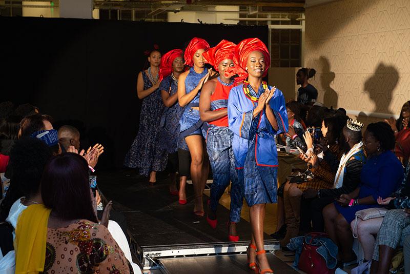 Fashion4Africa UK 2018   Model and designer finals
