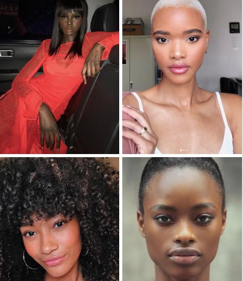 The new black angels for Victoria Secret 2018