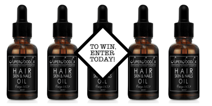 3 SuperfoodLX Hair Skin & Nail Oils to win