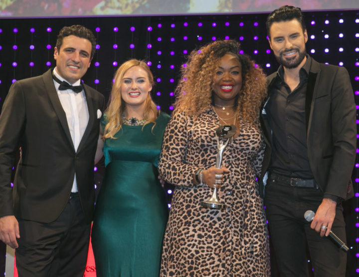 Black hairstylists sparkle at the British Hairdressing Awards