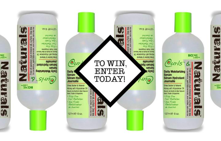 Win a Biocare Curls and Naturals Daily Moisturising Serum