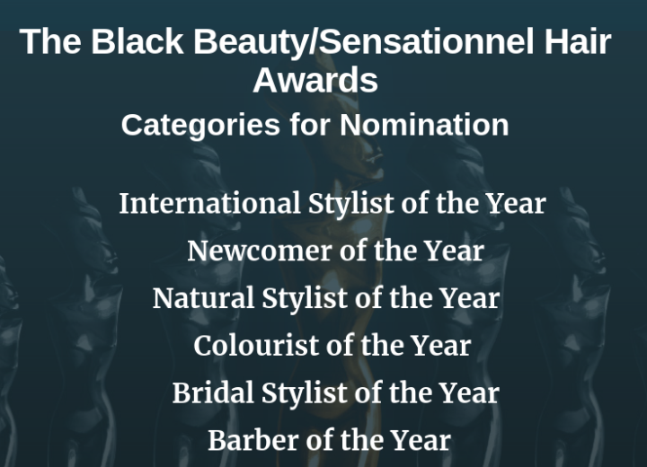 Black Beauty/Sensationnel Hair Awards categories