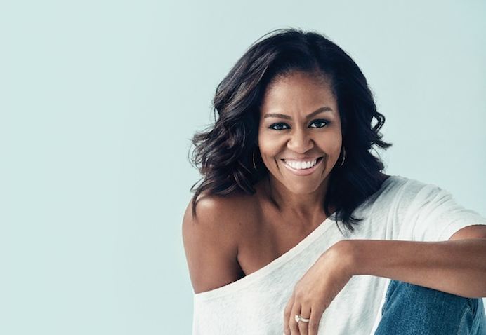 Michelle Obama is coming to London