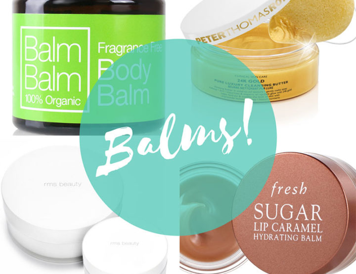 4 beauty balms you need this winter