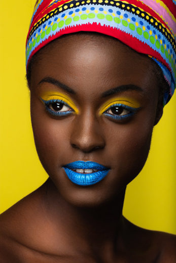 Melanin make-up