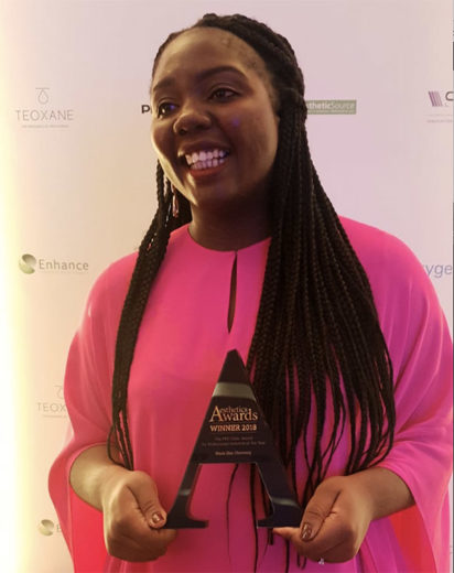 Black Skin Directory wins big at the Aesthetic Awards