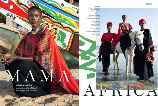 Emerging Gambian fashion label | Ferdosia