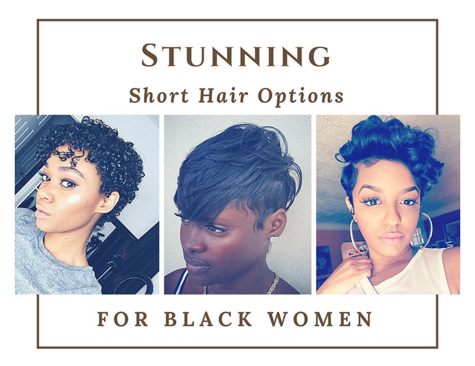 Stunning short hair options for black women