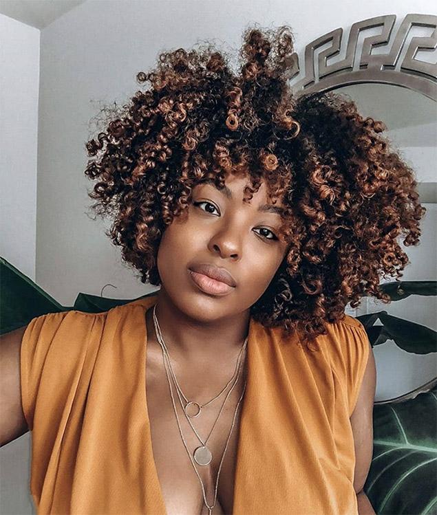 Pintura The Perfect Hair Dye Technique For Curly Hair
