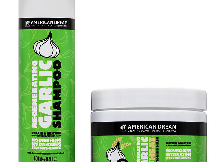 10 American Dream Garlic Shampoo & Conditioning Masks