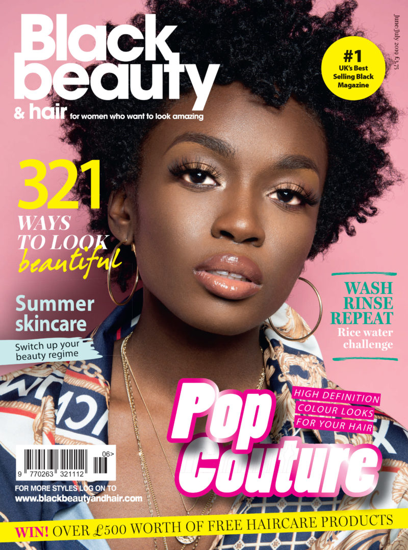 hair beauty magazine july june single issue bbh covers